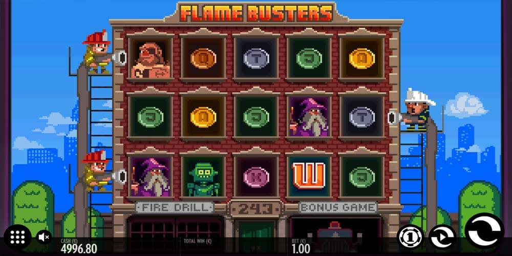 Slot from Thunderkick - Flame Busters