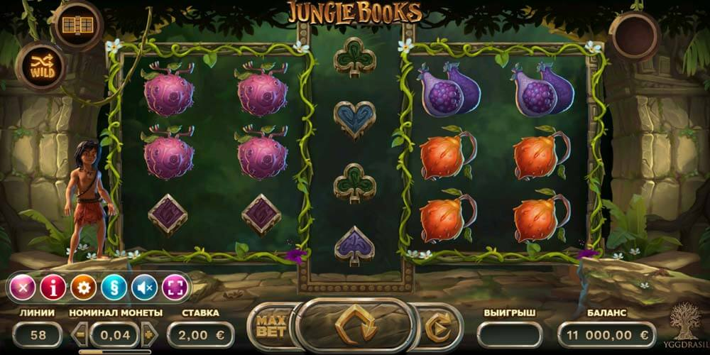 Slot from Yggdrasil - Jungle Books